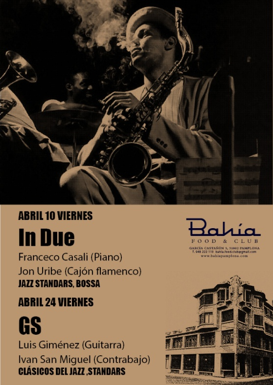 cartel jazz abril 15